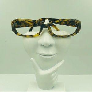 Anne Klein Tortoise Oval Glasses Frames